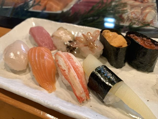 知床 冬 2泊3日 羅臼 寿司