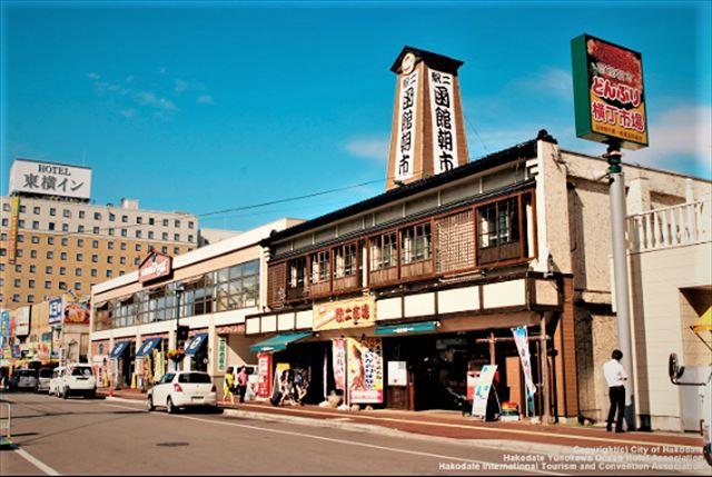 函館はしご酒どんぶり横丁市場