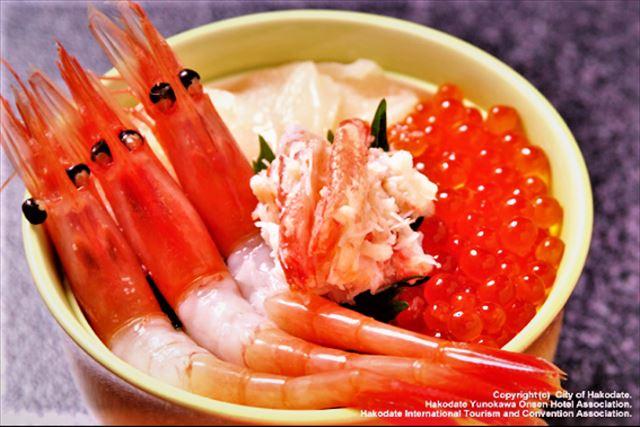 函館はしご酒海鮮丼