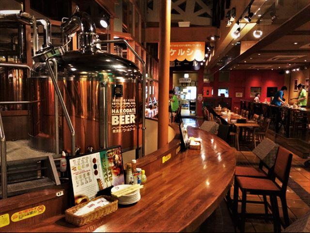 北海道地ビールはこだてビール様子