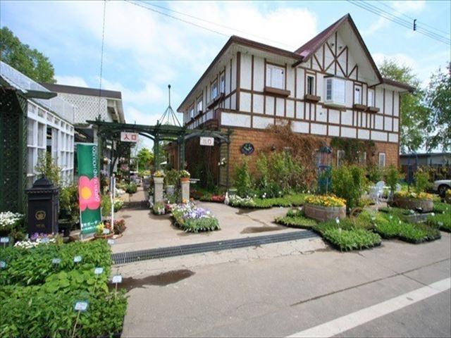幸福駅 周辺観光スポット 紫竹ガーデン