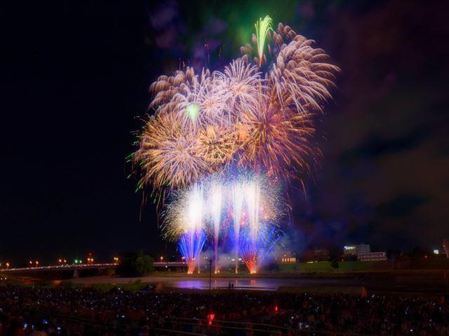 北海道 花火大会 おたる潮まつり