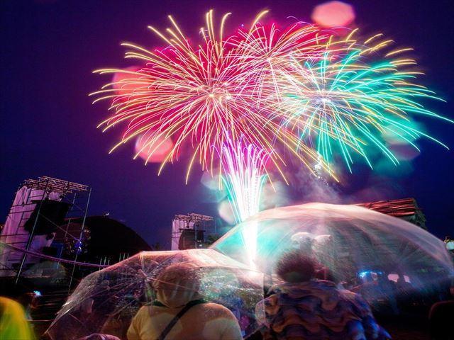 北海道 花火大会 ライトアップニッポン 花火