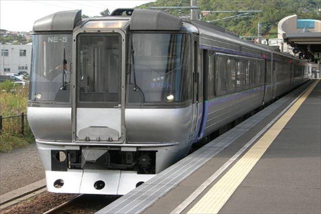 JR北海道 特急列車 室蘭方面 すずらん