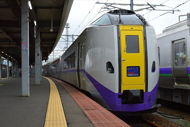 JR北海道 特急列車 函館方面 スパー北斗