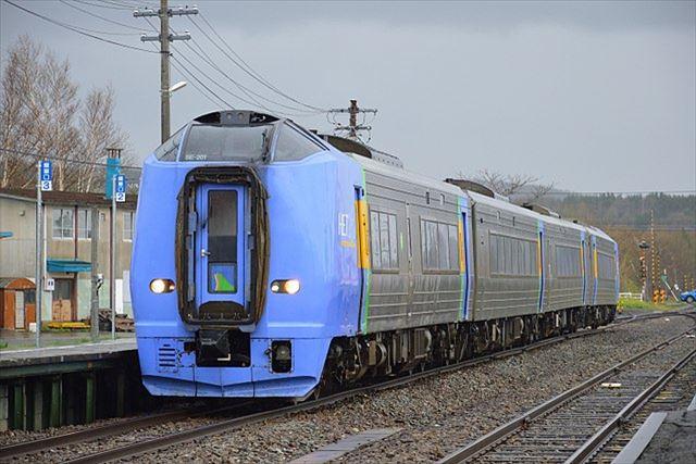 JR北海道 特急列車 稚内方面 宗谷