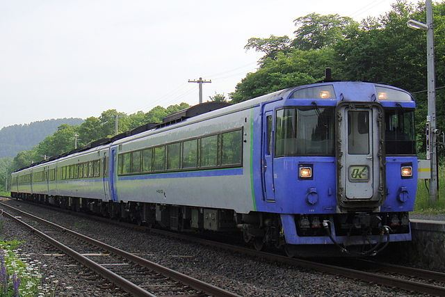 JR北海道 特急列車 網走方面 オホーツク