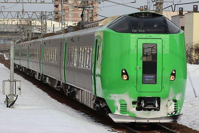 JR北海道 特急列車 旭川方面 ライラック