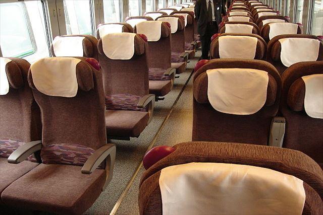 JR北海道 特急列車 旭川方面 カムイ 車内