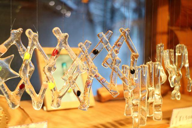 ニングルテラス ガラスの家 風鈴