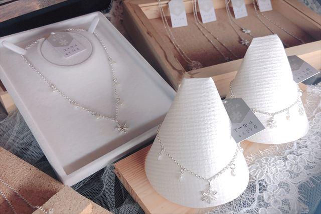 ニングルテラス 雪の結晶 商品 ネックレス