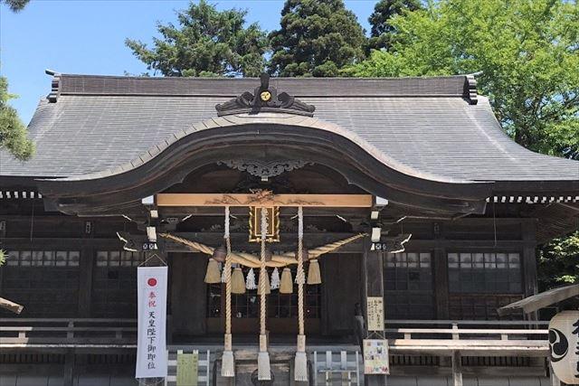 函館湯倉神社 拝殿