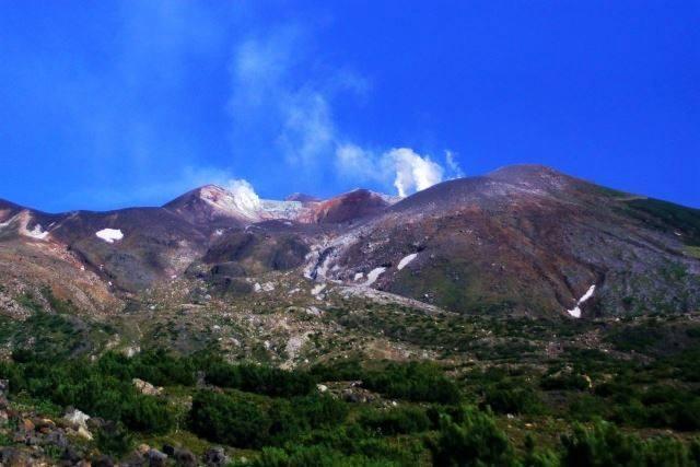 北海道 登山 中上級 十勝岳