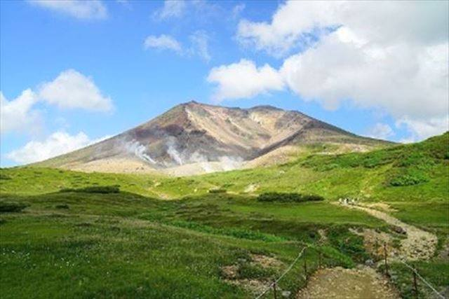 北海道 登山 中上級 旭岳