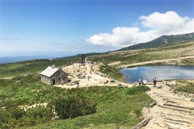 北海道 登山 中上級 旭岳 散策コース 展望スポット