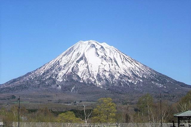 北海道 登山 中上級 羊蹄山 全体