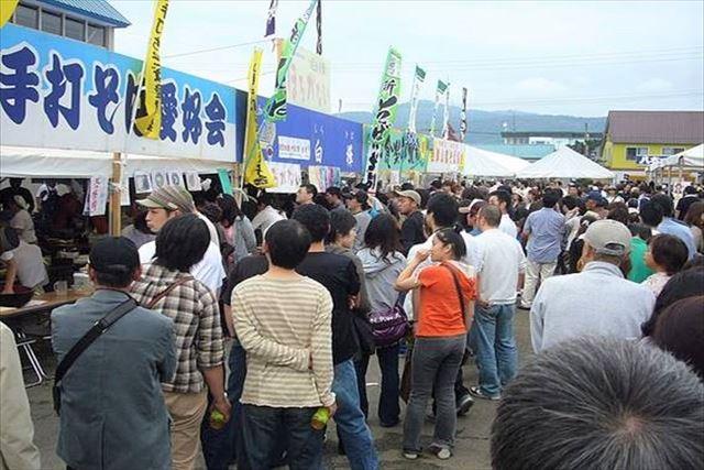 北海道 そば 幌加内町新そば祭り