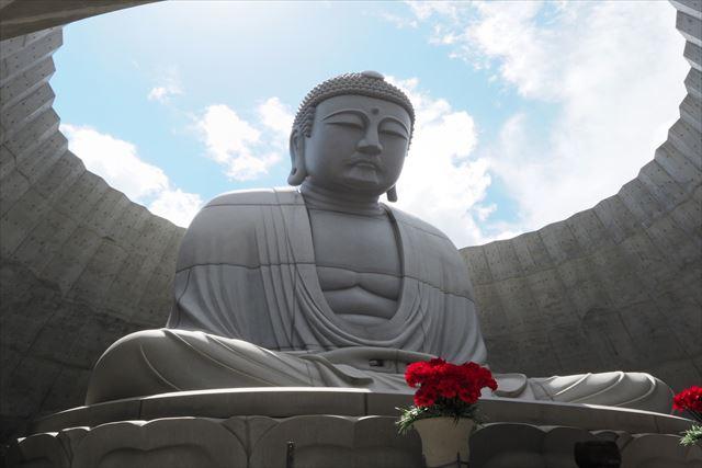 真駒内滝野霊園 頭大仏