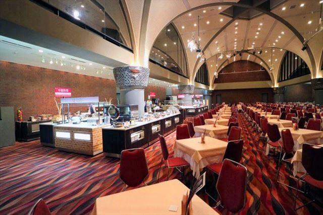 新富良野プリンスホテル ブッフェレストラン