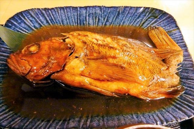 稚内 グルメ 海鮮 ソイの煮魚