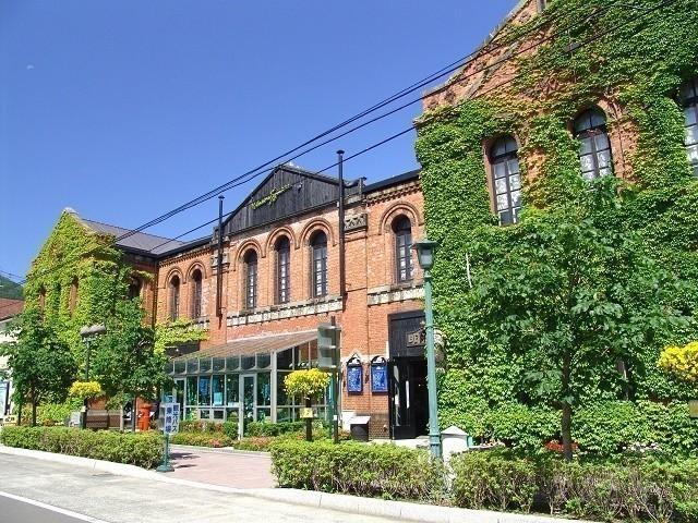 函館 明治館 ツタの絡まる洋館 はこだて明治館 西洋建築