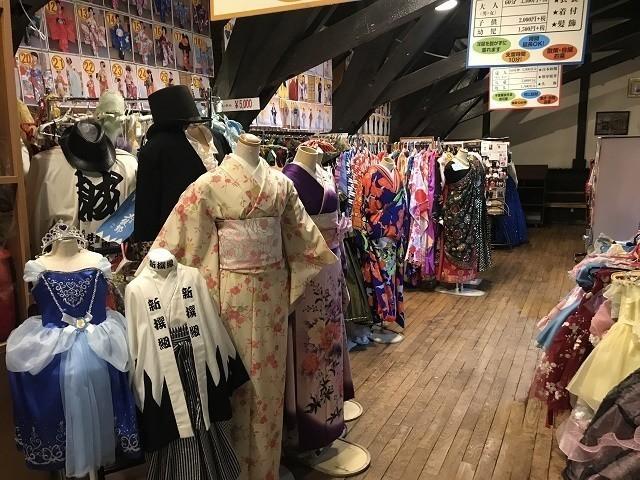 函館 明治館 新選組の羽織袴 アンティークドレス
