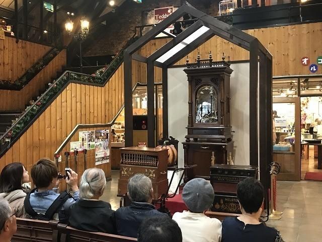函館 明治館 約100年前に作られたアンティークオルゴール オルゴールコンサート