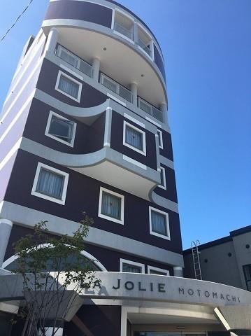 函館 ラグジュアリーホテル レトロチックな洋風のおしゃれな外観
