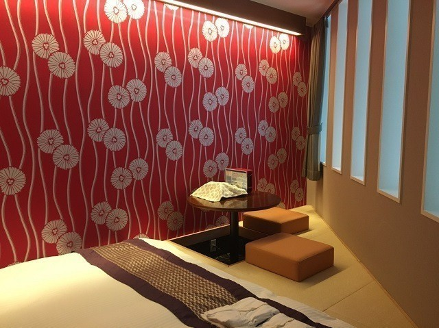 函館 ラグジュアリーホテル 独創的な部屋の形
