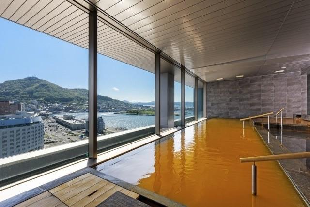 函館 センチュリーマリーナ 天然温泉スパ ステラ 温泉から見える絶景 心も体も温まる温泉