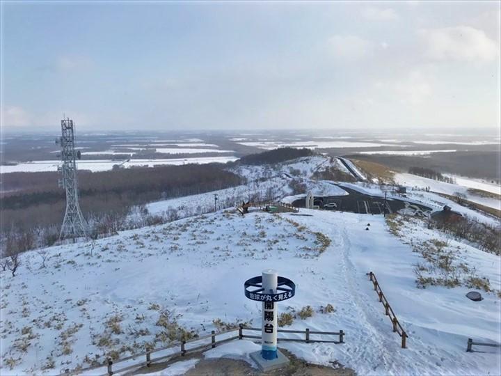 開陽台 冬