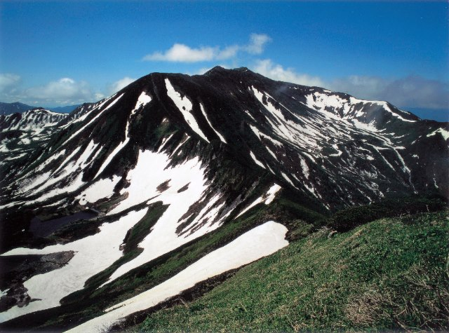 北海道 百名山 幌尻岳