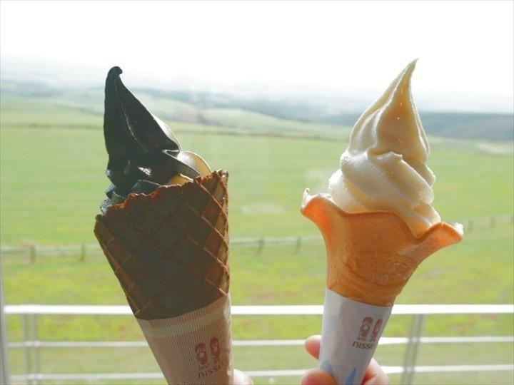 ナイタイテラス ソフトクリーム