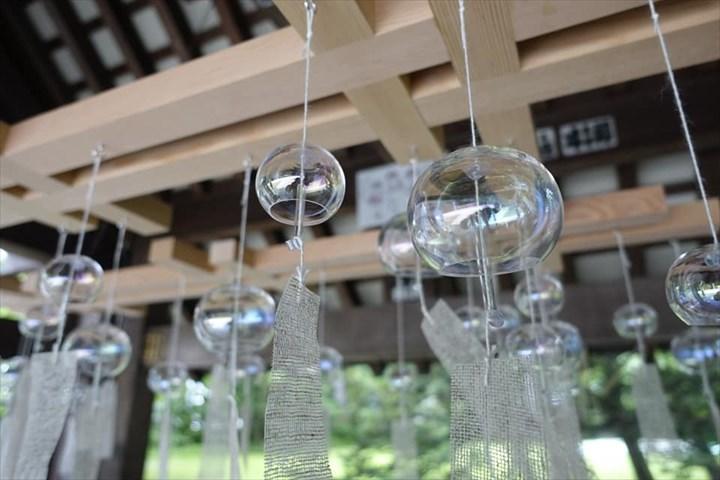 帯廣神社 夏詣 シャボン玉風鈴