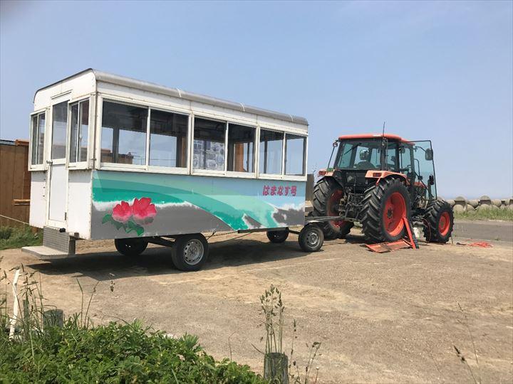 トドワラ観光 トラクター はまなす号