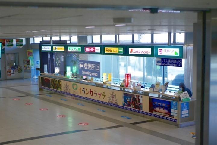 釧路空港 レンタカーカウンター