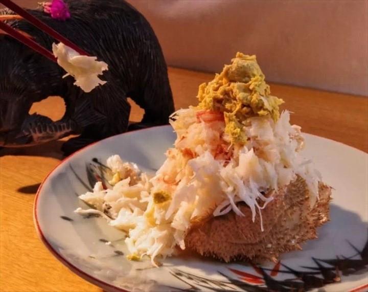 知床 海鮮 毛蟹