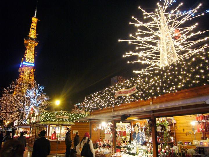 北海道 冬 イベント コロナ さっぽろホワイトイルミネーション・ミュンヘン・クリスマス市 in Sapporo