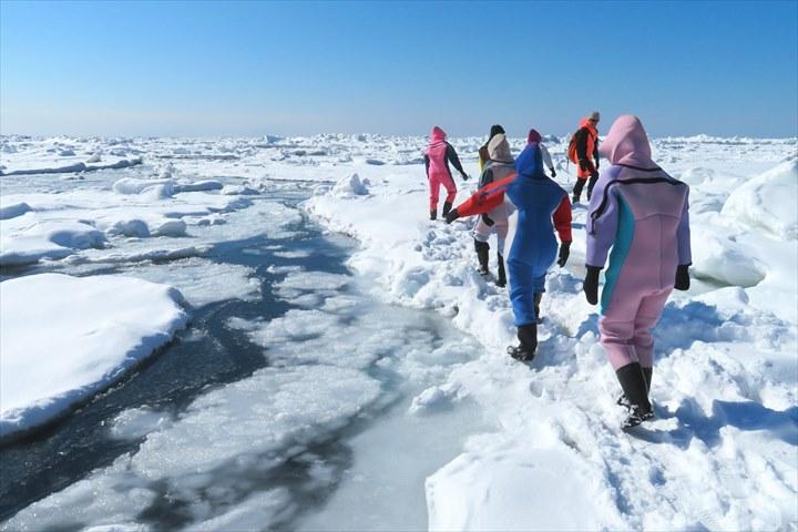 知床 観光 流氷ウォーク