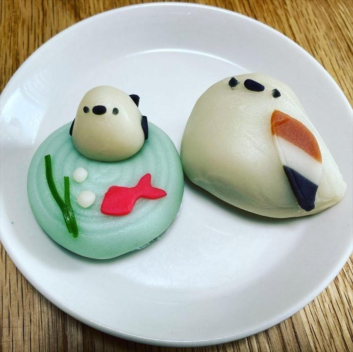 シマエナガ 和菓子