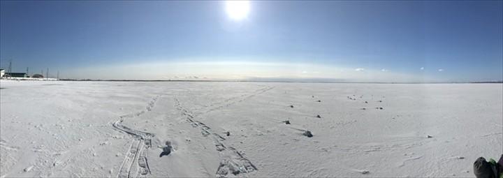 北海道 氷平線