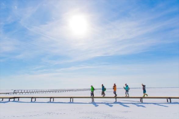 北海道 別海町 氷平線