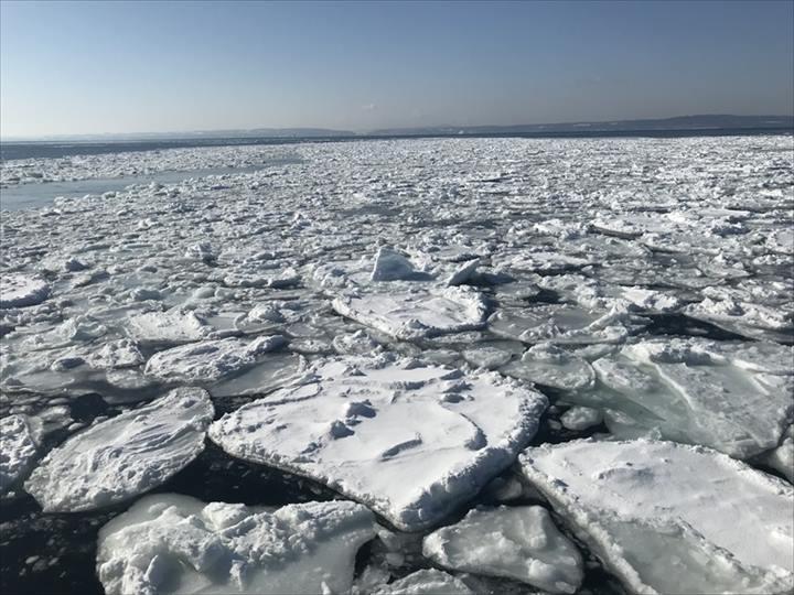 流氷 モデルコース