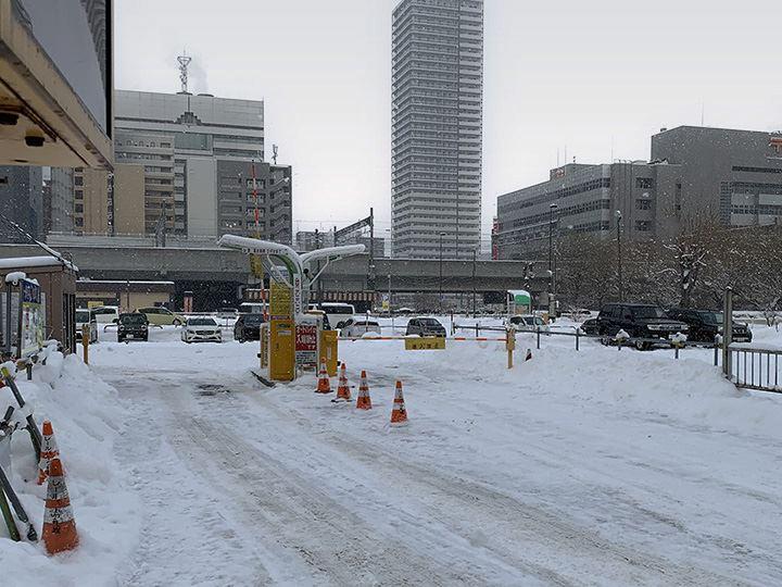 札幌駅周辺 駐車場 レールパーク札幌駐車場