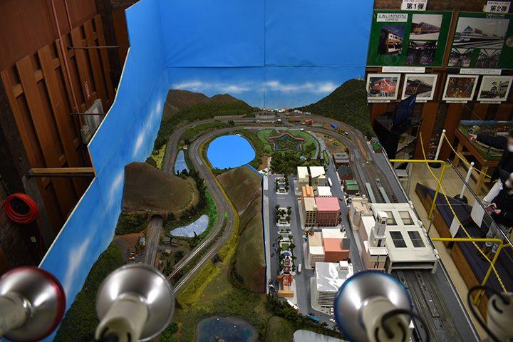 北海道鉄道技術館 振子でトライ 鉄道模型
