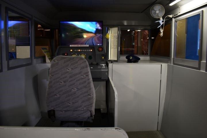 北海道鉄道技術館 振子でトライ 運転