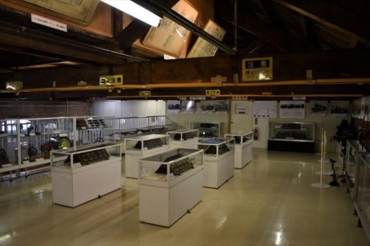 北海道鉄道技術館 2階 資料展示