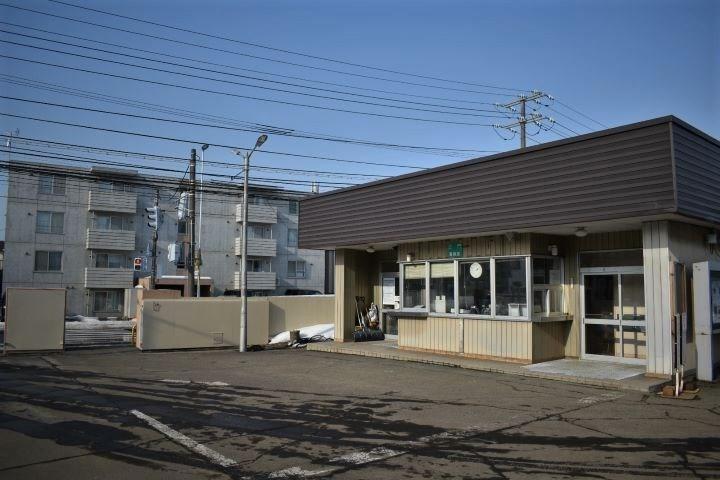 北海道鉄道技術館 警備室で受付