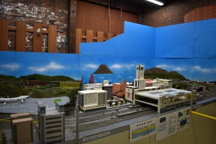北海道鉄道技術館 ジオラマ