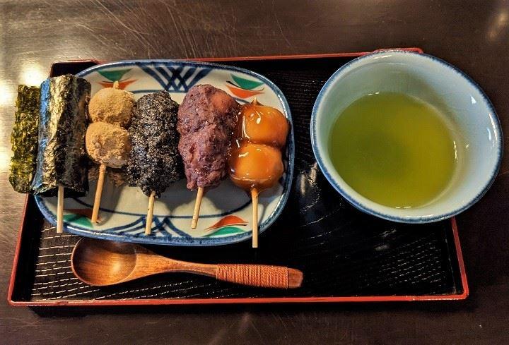 小樽 カフェ café 色内食堂 団子